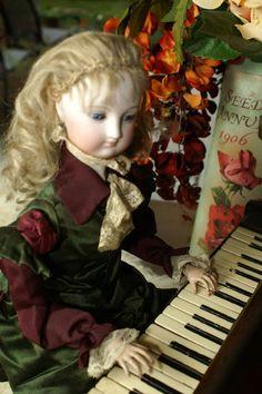 HOLD for B~Fantastic Rare Vichy Piano Automaton with Secrets!