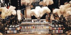 Big Biba, cosmetics counter