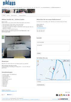 Niklaus Sanitär AG, Sanitäre Anlagen und Installationen, Jegenstorf, Heizungen, Rohrleitungsbau, Boilerentkalkungen