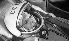 Early Soviet success in the Space race continued when they put the first man into space, Yuri Gagarin. He did a full orbit of earth before his return. At this point the Soviets have put the first satellite and human into space.