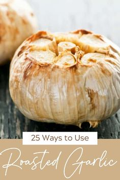 How to roast garlic + 25 things to do with it! You'll love the mellow, rich flavor so much you'll be popping cloves straight into your mouth. If that doesn't work for you, I'll give you unique ways to use it! #roastedgarlic #howtouseroastedgarlic #thewickednoodle