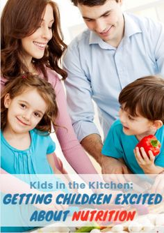 Mealtime is a way of bringing families together but cooking doesn't have to be reserved just for the adults. Allowing children to help with food preparation will help them become excited about their meals, gives them an idea of where food comes from and will help pave the way for healthy habits in the future. Kids in the Kitchen: Getting Children Excited About Nutrition http://www.active.com/nutrition/Articles/Kids-in-the-Kitchen-Getting-Children-Excited-About-Nutrition.htm?cmp=23-69