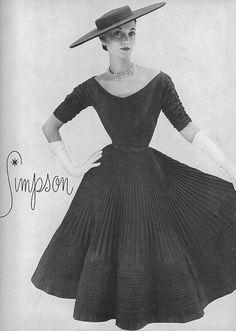Barbara Mullen, Harper's Bazaar, February 1952