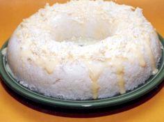 Receita de Manjar de Tapioca com Coco - farinha de tapioca, leite de coco, água, açúcar , sal
