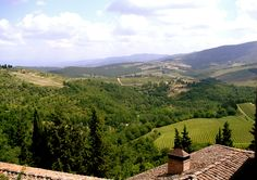 View from a Tuscan Winery