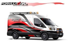 SEMA Preview: This Formula DRIFT Transit is more than a concept – it is a functional vehicle that will be used at series events in 2015. The Formula DRIFT series, based in Long Beach, California, has taken a medium-roof, short-wheelbase Transit and transformed it into the ultimate track support vehicle. #RracingFriday Every Week at blog.rvinyl.com