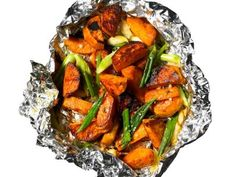 Get this all-star, easy-to-follow Scallion Sweet Potatoes recipe from Food Network Kitchen
