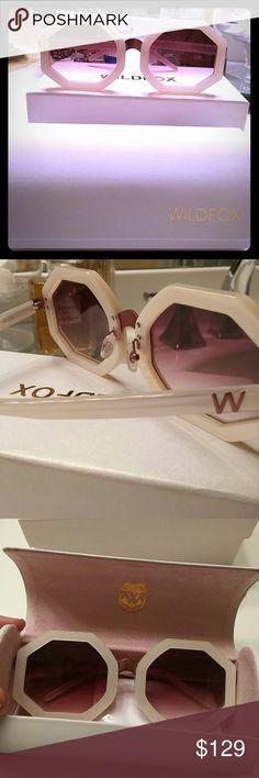 HOST PICK NEW Wildfox sunglasses Glasses, case, original box, scratch resistant cloth. Never worn Wildfox Accessories Glasses