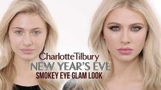 New Year's Eve Glam Smokey Eye Makeup Tutorial | Charlotte Tilbury Absolutely exquisite-featuring Charlotte's iconic magic complexion treasures, Color Chamelon in Bronzed Garnet-for a gorgeous smoky-with the Dolce Vita Eye Palette, Rock N Kohl Eyeliner, Audrey liner-NEW Filmstar Bronze and Blush Palette with the beautiful finely milled pearls, the beautiful NEW Limited Edition Matte Revolution Lipstick in English Rose & #scentofadream