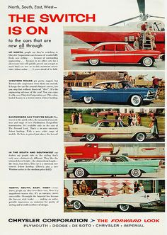 1950s Chrysler Hierarchy - Imperial - Chrysler - De Soto - Dodge - Plymouth