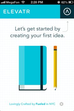 Elevatr:  A place to organize and amplify your business ideas.