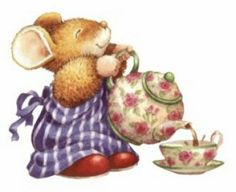 such a cute picture for something in the classroom...maybe for a parent tea invitation?