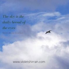 Another blue sky today. Bitch Quotes, Qoutes, Blue Sky Quotes, Daily Bread, Textile Artists, Inspirational Quotes, Movie, Instagram, Quotations