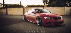 An Iron Fist in a Red Velvet Glove – The Bag Riders LB-Performance BMW E92 335xi | Stance | Works