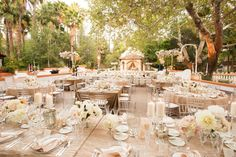 blush and champange wedding designed by inviting occasion Studio EMP via CeremonyBlog.com
