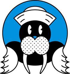 Walrus #walrus #illustration #illustrator #smileanddave