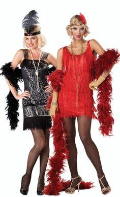 Damen Karneval Fasching Verkleidu Florence Showtime Charleston Kostüm weiß NEU
