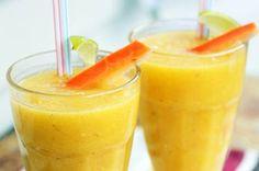 Orange Creamsicle Smoothie, and more. The Orange Creamsicle Smoothie is a staple in my house. Smoothie Drinks, Healthy Smoothies, Healthy Drinks, Healthy Snacks, Orange Smoothie, Detox Drinks, Strawberry Smoothie, Breakfast Smoothies, Fruit Smoothies