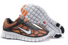 sale retailer f6794 c3179 Nike Free Run 3 Grijs Oranje Wit Breathable Mesh Heren Buy Nike Shoes,