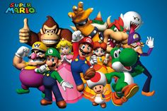 mario brothers characters - Google Search