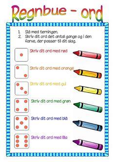 Igen et forslag til at træne de 120 ord. Rudolf Steiner, Cooperative Learning, Teaching Kids, Kids Playing, Back To School, Language, Classroom, Teacher, Education