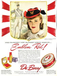 "DuBarry ""Emblem Red!"" 1941."