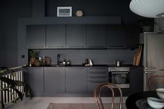 my scandinavian home: Converted Stables Become a Dramatic Home Full of Contrast in Norway