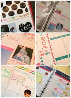my first weekend w/ my Erin Condren Life Planner