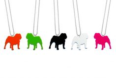 Rocco the bulldog pendant