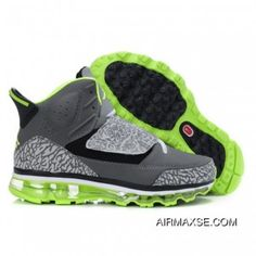 68d848d840f5a0 Super Deals Jordan Son Of Mars+09 Burst Pattern Mid Grey Black Green Shoes
