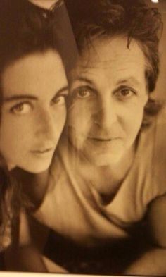 Paul McCartney With His Daughter Mary Photo By Linda Eastman
