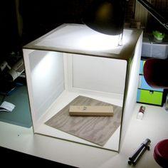 Handmade Lightbox Tutorial - use foam board & tracing paper  (easier than the cardboard box version I did before!)