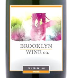 Brooklyn wine label. Lovely although I've never seen the bridge look this nice PD