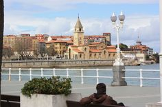 Gijon, Spain I walked that pier every night with friends I made while there.