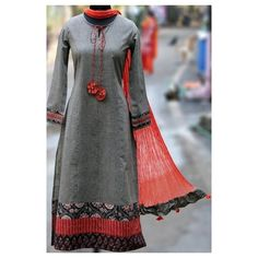 Buy Maati Crafts Gray Cotton Printed Anarkali Kurti online in India at best price. this is a stanza kurta, a poetic form that has 3 lines! this kurta can be teamed with straight pants