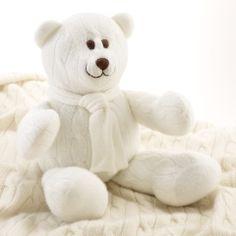 Large Cashmere Bear - Baby Little Luxuries - RalphLauren.com