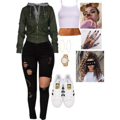 Untitled #722 by bennysgirl on Polyvore featuring polyvore, fashion, style, adidas Originals, Lana, Michael Kors and clothing