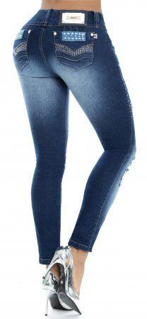 Jeans levanta cola WOW 86304 Azul