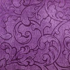 Purple Paisley Pattern Fabric