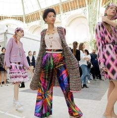 Behind-the-scenes at Chanel during Paris Fashion Week. Photographed by Kevin Tachman.
