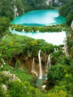 Amazing Waterfalls Around The World -2 -Plitvice Waterfalls, Croatia