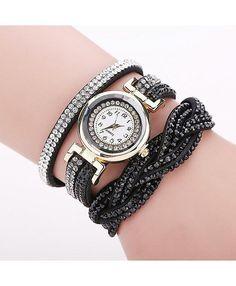 Luxury Rhinestone Ladies Bracelet Watch $19.98 FREE Shipping Worldwide  #fashion #style #stylish #jewelry #jewellery #bracelets #bracelet #watches #watch