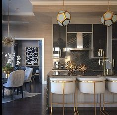 20 Rustic and Classic Glam Kitchen Decorating Ideas – Home Decoration Kitchen Decorating, Home Decor Kitchen, Interior Design Kitchen, Home Kitchens, Interior Decorating, Decorating Ideas, Kitchen Rustic, Decor Ideas, Kitchen Ideas