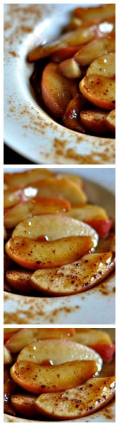 Fried apples make a great addition to any meal. The fall is the time for #FriedApples for #dinner