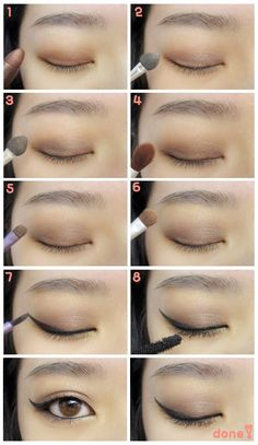 Korean eyeliner tutorial - Asian eyes