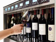 Quatro +4 wine dispenser.