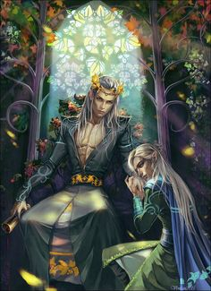 Gli Arcani Supremi (Vox clamantis in deserto - Gothian): Oropher, re degli Elfi Silvani