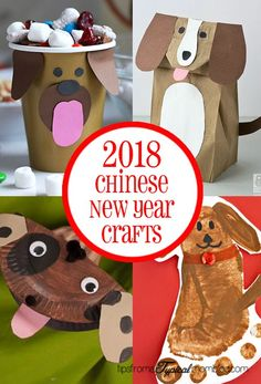 2018 Chinese New Year Crafts and Activities for Kids New, 2018 chinese new year crafts and activities for kids 2018 chinese new year crafts and activities for kids tipsom a typical mom 2018 is the year of the brown dog and i have some awesome crafts and a Chinese New Year Crafts For Kids, Chinese New Year Dragon, Chinese New Year Activities, Chinese Crafts, New Years Activities, Paper Crafts For Kids, Craft Activities For Kids, Preschool Crafts, Learning Activities