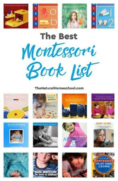 Here's the best Montessori books for parents and teachers. Change your child's life for the better with this wonderful method, the Montessori Method. Montessori Books, Montessori Materials, Montessori Toddler, Kids Learning Activities, Preschool Activities, Indoor Activities, Gifted Education, Kids Education, Homeschool Curriculum