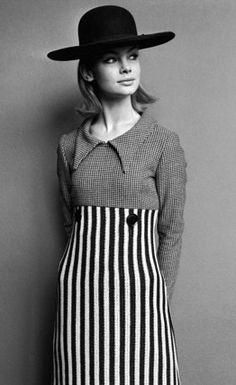 Mary Quant - Robe - Jean Shrimpton - 1963